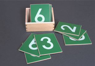 Sand Paper Numbers